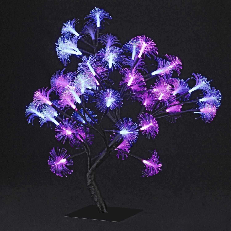 Objet lumineux arbre fibres 2 52 w leroy merlin - Arbre lumineux leroy merlin ...