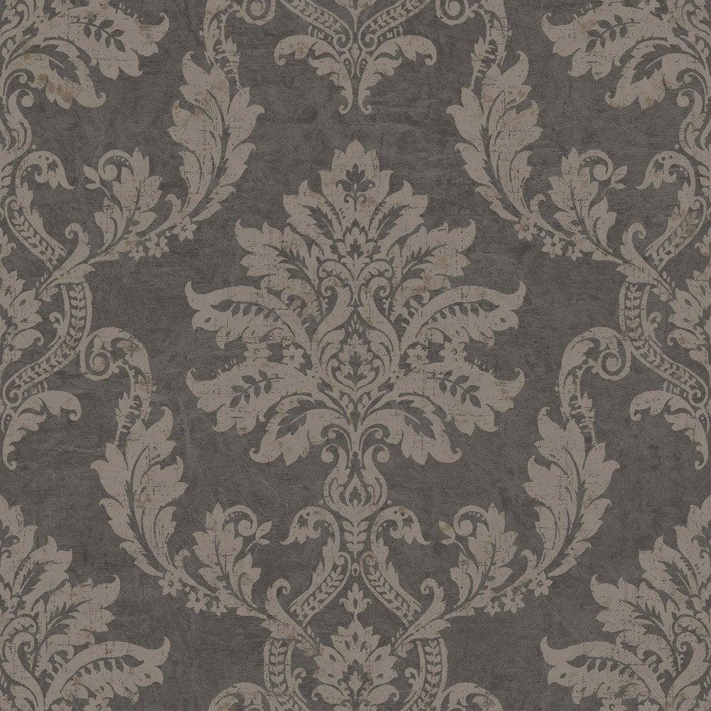 papier peint classic gris dor intiss jade leroy merlin. Black Bedroom Furniture Sets. Home Design Ideas