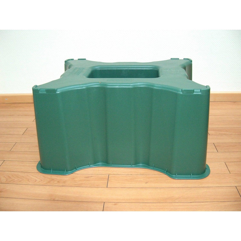 socle de cuve garantia vert 300l leroy merlin. Black Bedroom Furniture Sets. Home Design Ideas
