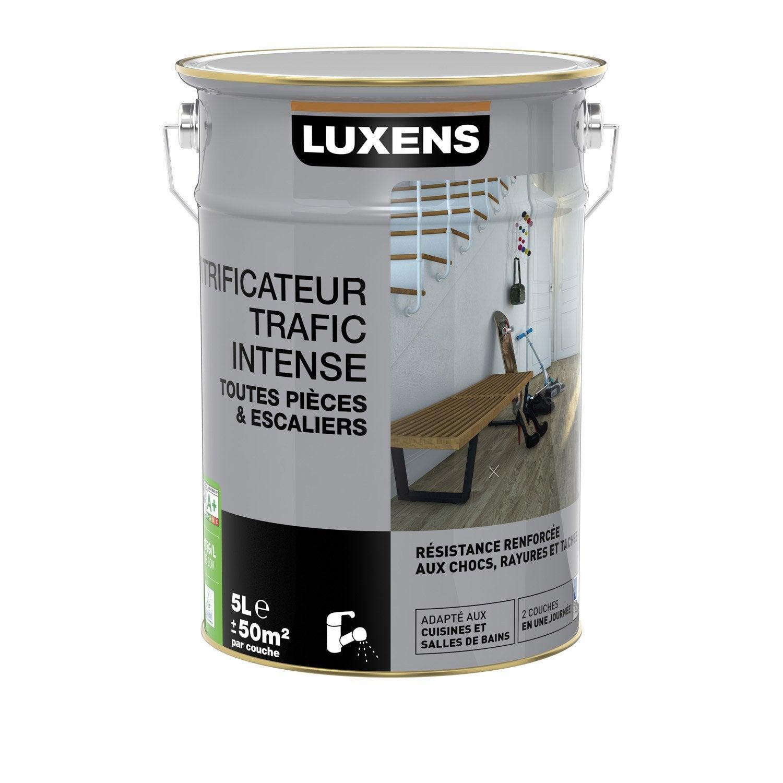 Vitrificateur parquet trafic intensif luxens incolore 5 - Vitrificateur parquet leroy merlin ...