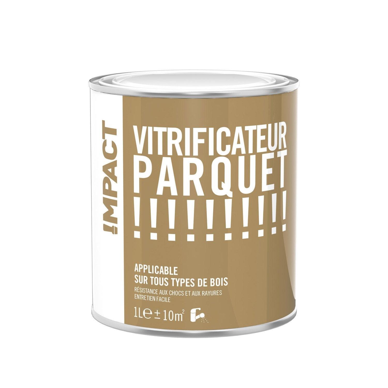 vitrificateur parquet impact incolore 1 l leroy merlin. Black Bedroom Furniture Sets. Home Design Ideas