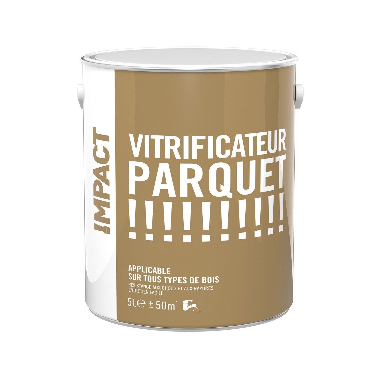 vitrificateur parquet impact incolore 5 l leroy merlin