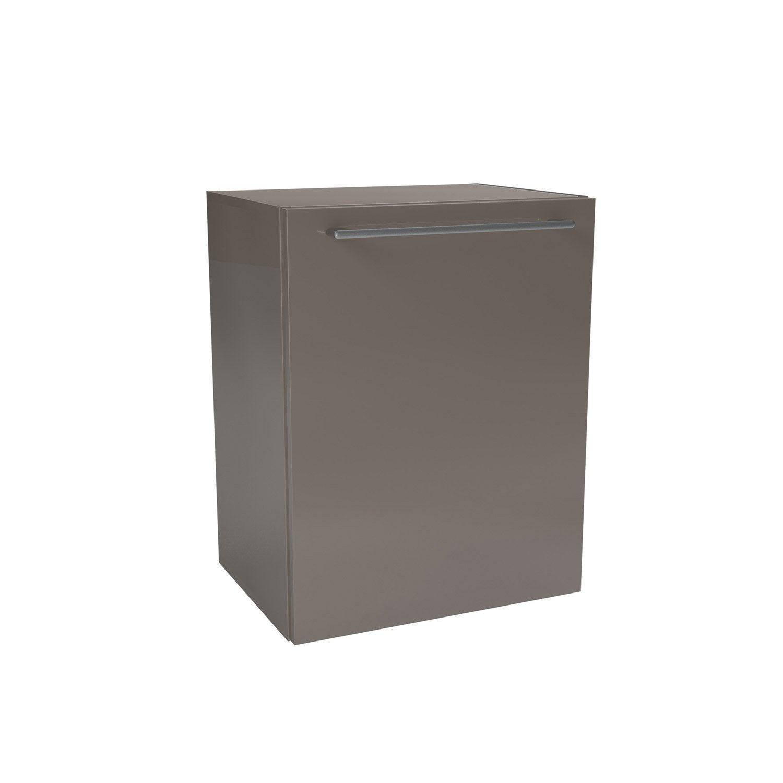 caisson meuble bas sensea remix taupe l45xh57 7xp33 cm 1. Black Bedroom Furniture Sets. Home Design Ideas