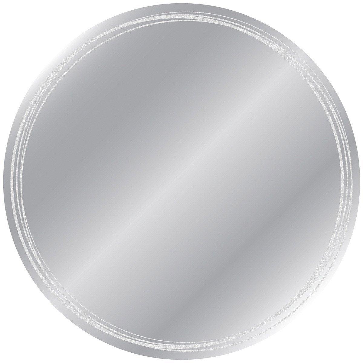 Miroir circles x cm leroy merlin for Miroir 50 x 70 leroy merlin