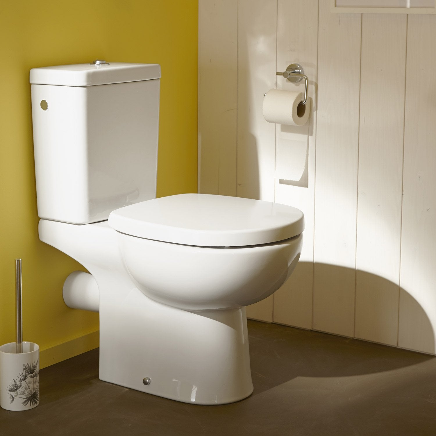 Deco wc leroy merlin for Lunette wc ideal standard