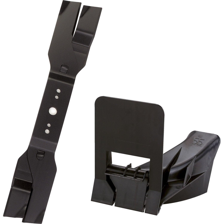 kit mulching pour tondeuse viking me mb545 acier leroy merlin. Black Bedroom Furniture Sets. Home Design Ideas