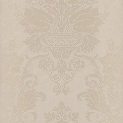 Papier peint ornement taupe clair iris intiss trio for Papier peint taupe clair
