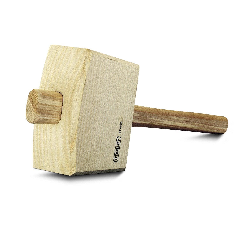Maillet de menuisier bois stanley kg leroy merlin - Maillet en bois ...