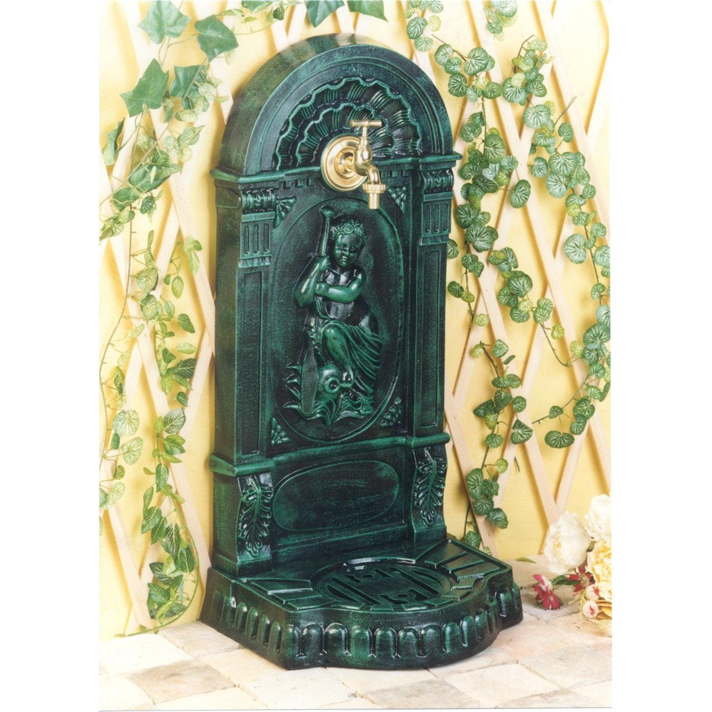Fontaine en fonte vert jouvenceau leroy merlin - Leroy merlin focos jardin bordeaux ...