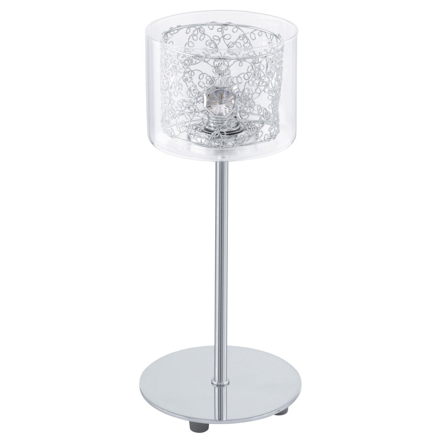 Lampe poser pianella eglo verre transparent 40 watts leroy merlin - Lampe anti moustique leroy merlin ...