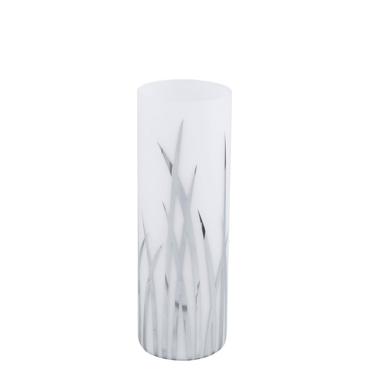 Lampe rivato eglo verre blanc 60 w leroy merlin - Lampe fibre de verre ...