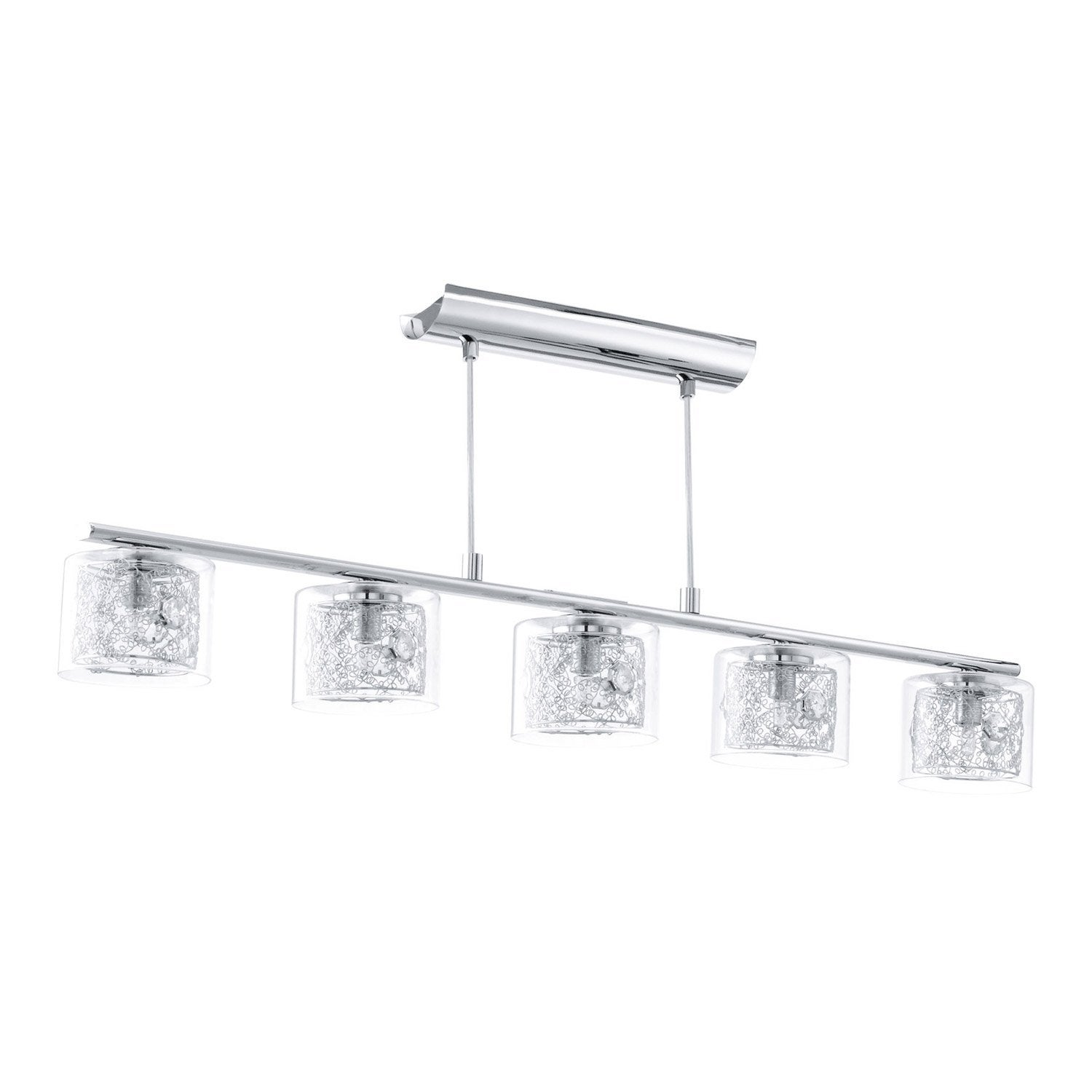 Suspension pianella eglo chrome 4x40 - Suspensions leroy merlin ...