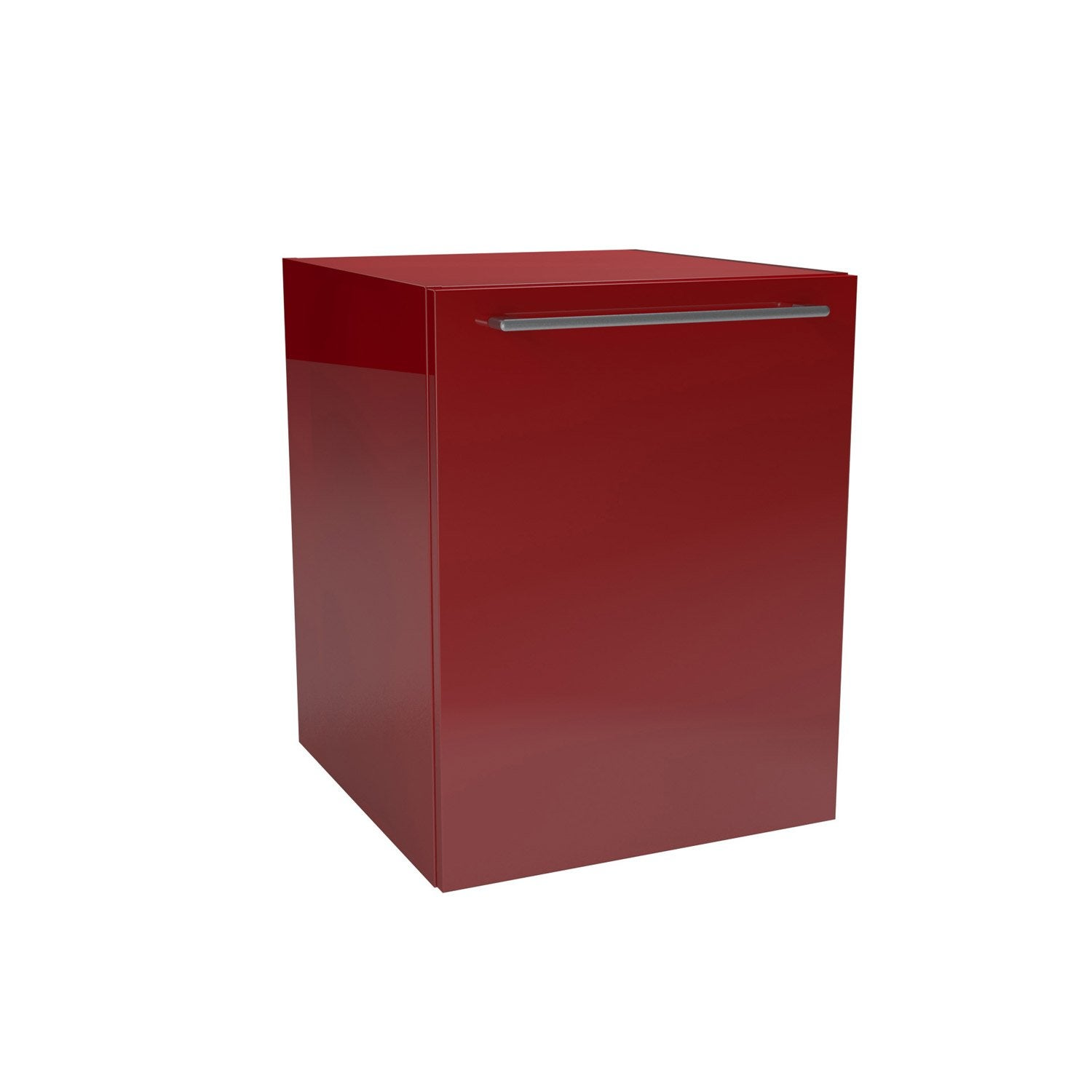 Caisson meuble bas x x cm rouge remix leroy merlin - Meuble a chaussure leroy merlin ...
