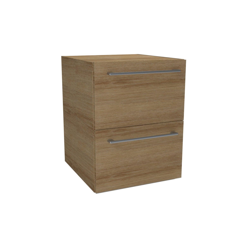 caisson meuble bas sensea remix imitation ch ne l45xh57. Black Bedroom Furniture Sets. Home Design Ideas