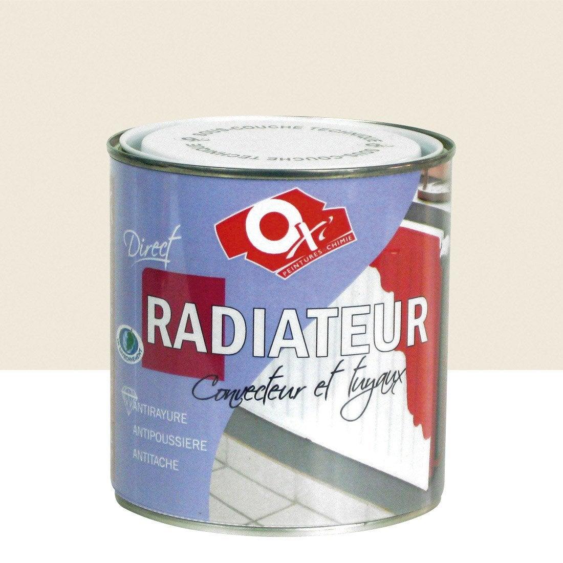 Peinture ox 39 oxytol ivoire 0 5 l leroy merlin - Peinture radiateur leroy merlin ...