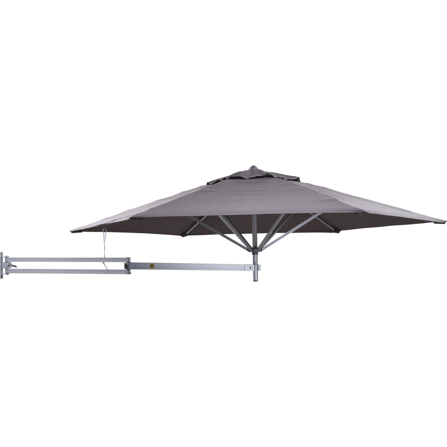parasol mural easysol taupe 5 m leroy merlin. Black Bedroom Furniture Sets. Home Design Ideas