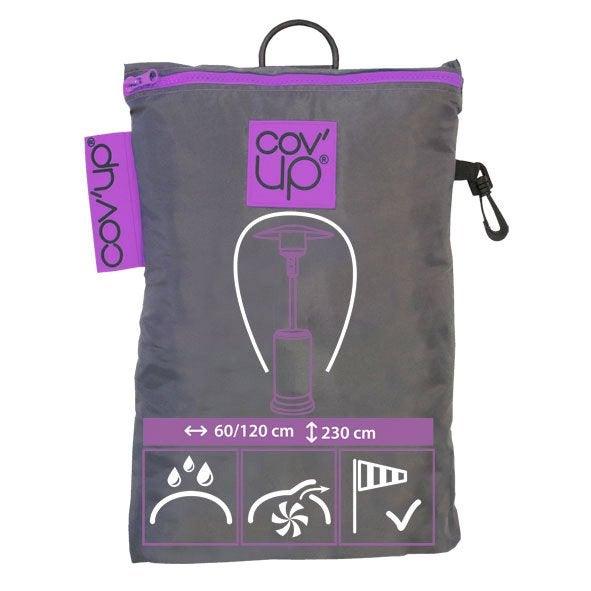 housse de protection pour parasol chauffant cov 39 up 60 x. Black Bedroom Furniture Sets. Home Design Ideas