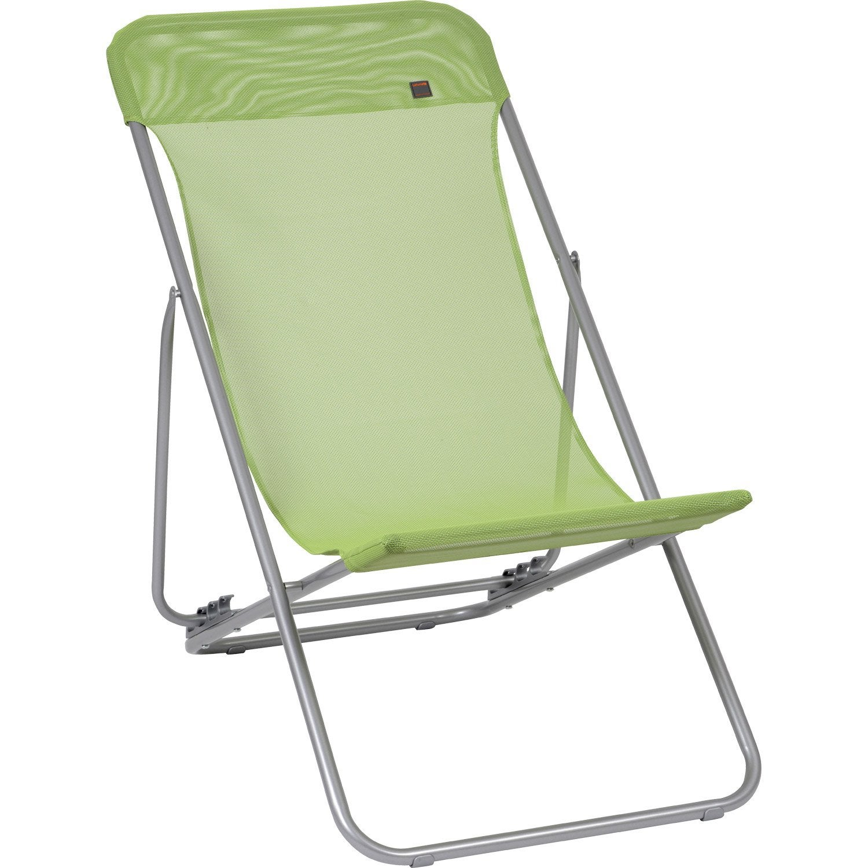Transat chaise longue leroy merlin table de lit - Chaises longues leroy merlin ...