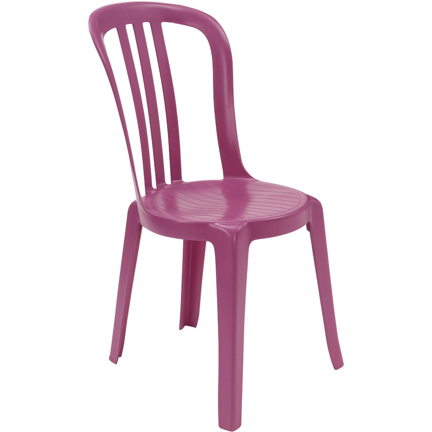 Salon de jardin fuschia for Chaise salon de jardin couleur