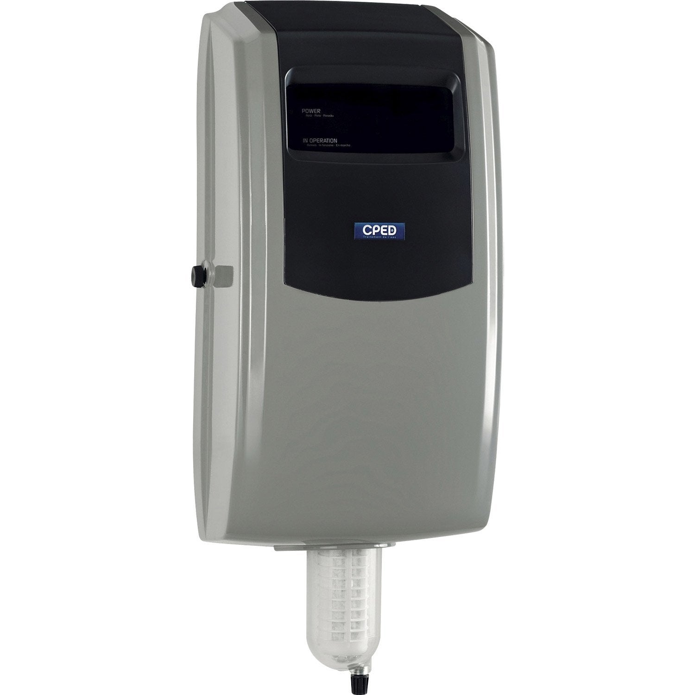 Station de filtration anti tartre greencalc cped leroy for Adoucisseur co2 leroy merlin