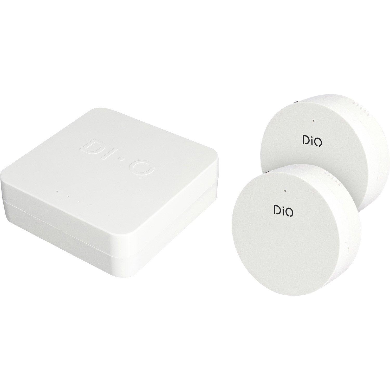 pack chauffage lectrique connect sans fil dio ed gw 03. Black Bedroom Furniture Sets. Home Design Ideas