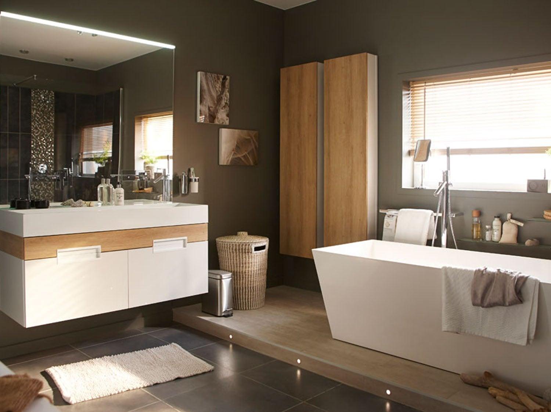 Une salle de bain tout confort leroy merlin - Salle d eau leroy merlin ...