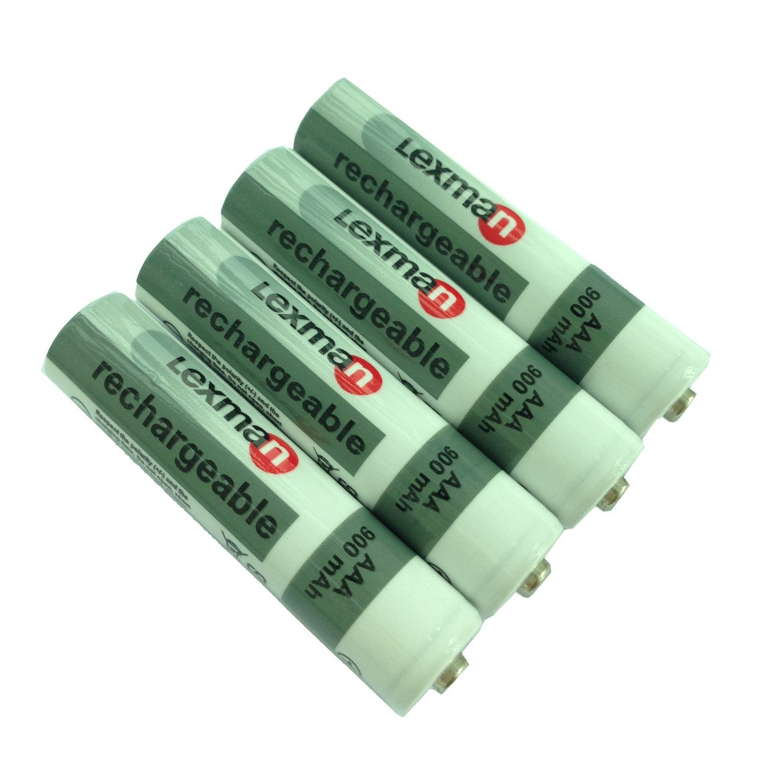 lot de 4 piles rechargeable lr03 aaa 1 5 v 900 mah lexman leroy merlin. Black Bedroom Furniture Sets. Home Design Ideas