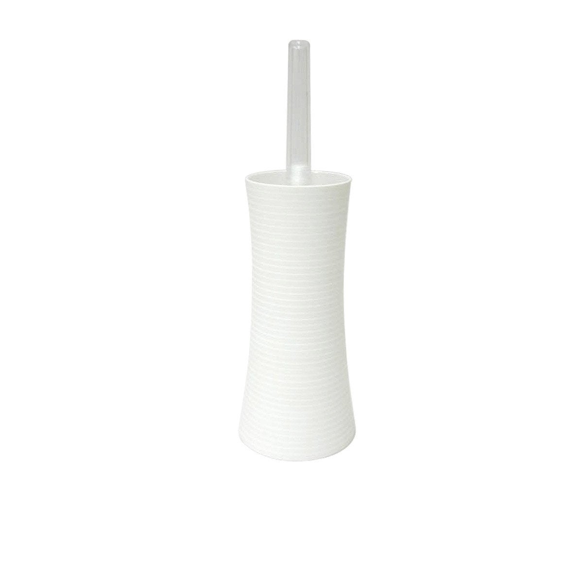 Brosse WC Gom, blanc blanc n°0  Leroy Merlin