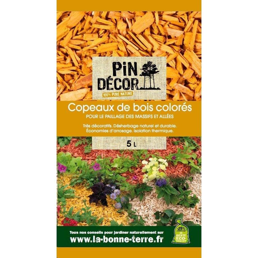 Copeaux de bois biolandes 5 l leroy merlin - Copeaux de bois colores ...