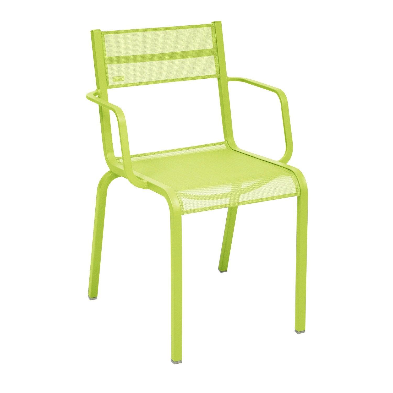 fauteuil de jardin en aluminium ol ron verveine leroy merlin. Black Bedroom Furniture Sets. Home Design Ideas