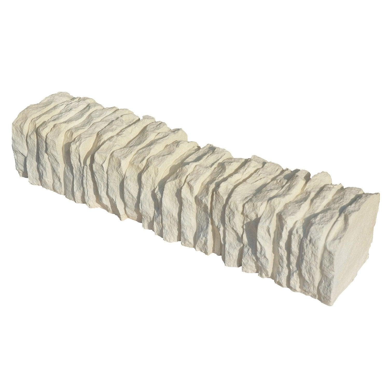 bordure droite c vennes pierre reconstitu e ton pierre h. Black Bedroom Furniture Sets. Home Design Ideas