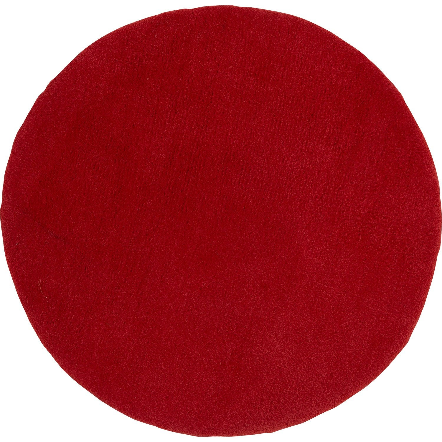 Tapis rouge rond rouge mm leroy merlin for Tapis exterieur terrasse leroy merlin