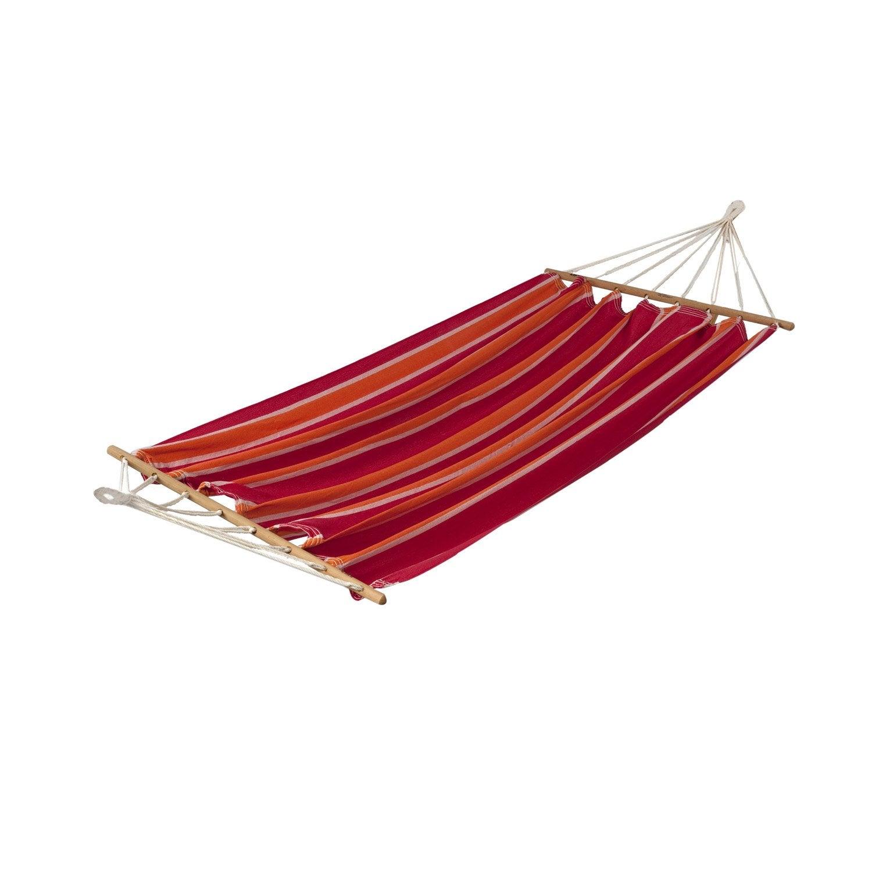 toile de hamac alegria rouge orange leroy merlin. Black Bedroom Furniture Sets. Home Design Ideas