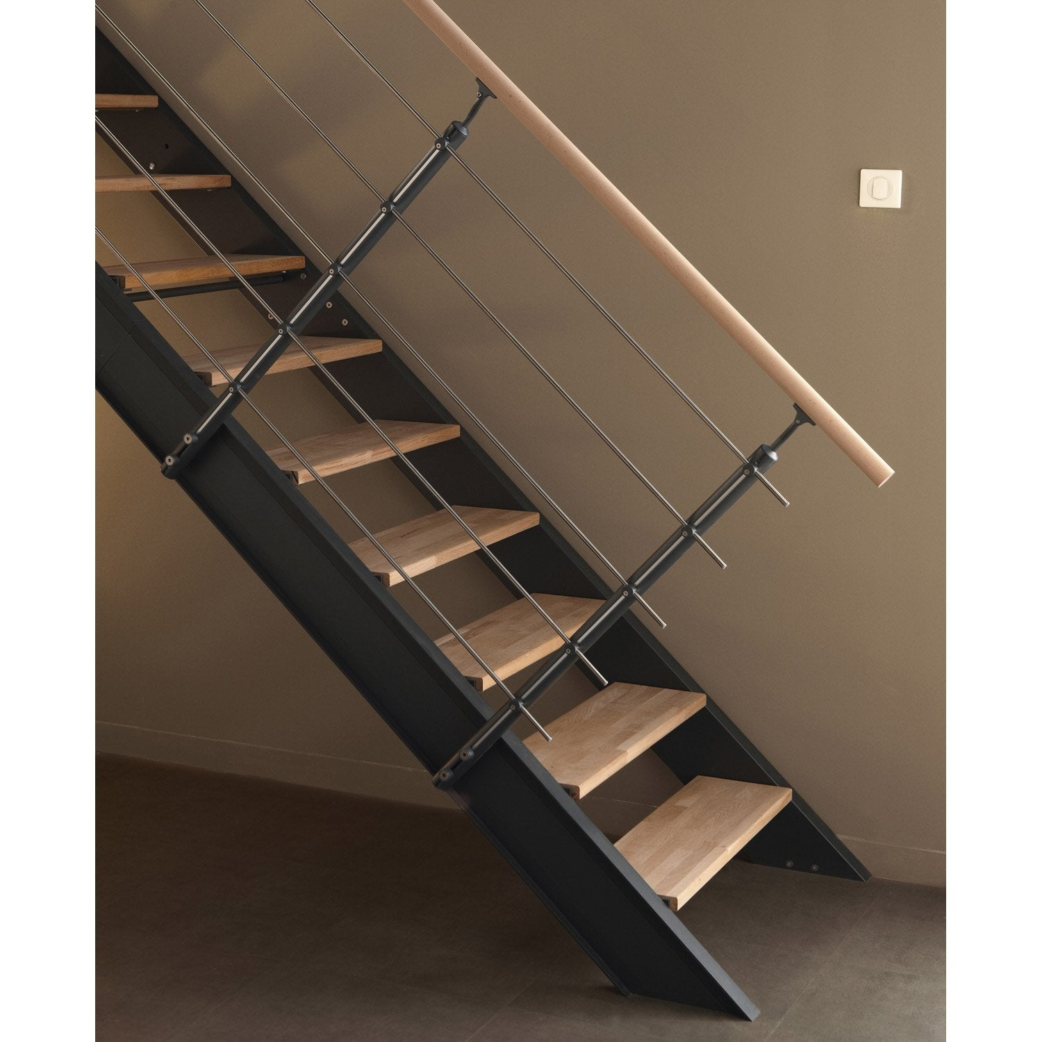 Garde corp bois leroy merlin for Kit de renovation escalier leroy merlin