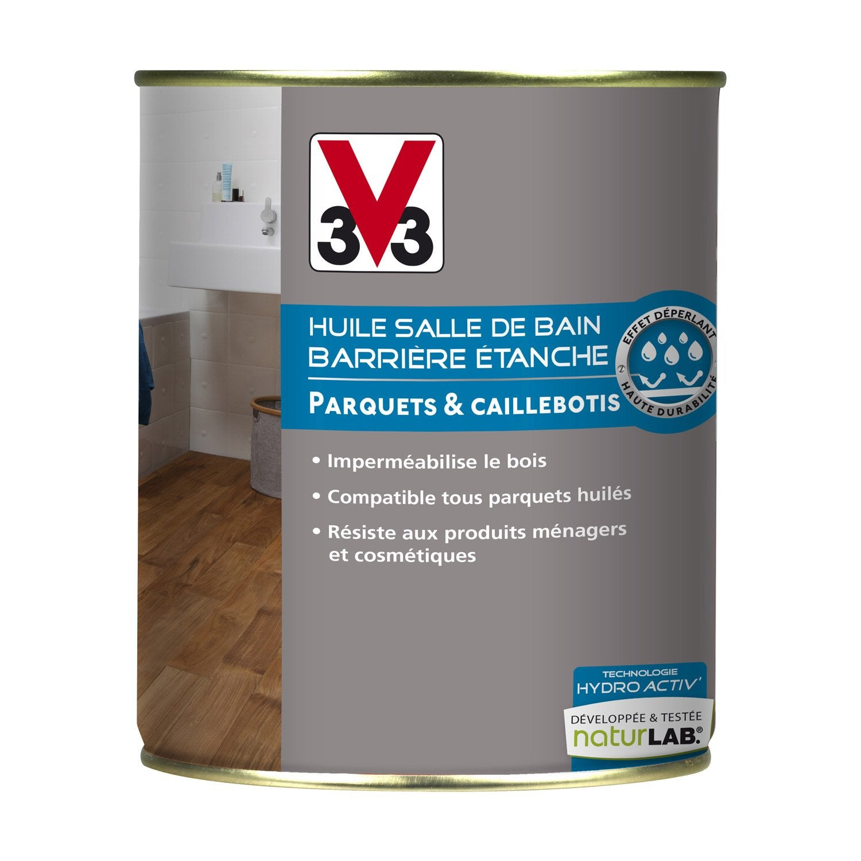 huile salle de bains hydro 39 activ v33 incolore l leroy merlin. Black Bedroom Furniture Sets. Home Design Ideas