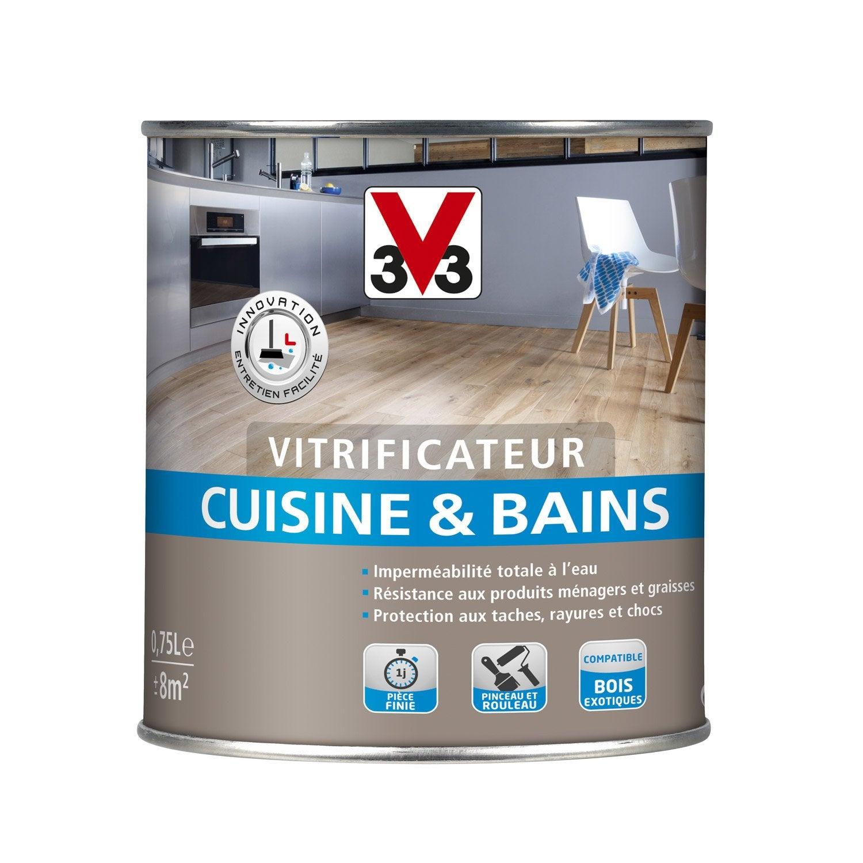 ... Vitrificateur Cuisine Et Bain Cuisine Et Bain V33 L For Vernir Un Meuble  Deja Vernis ...