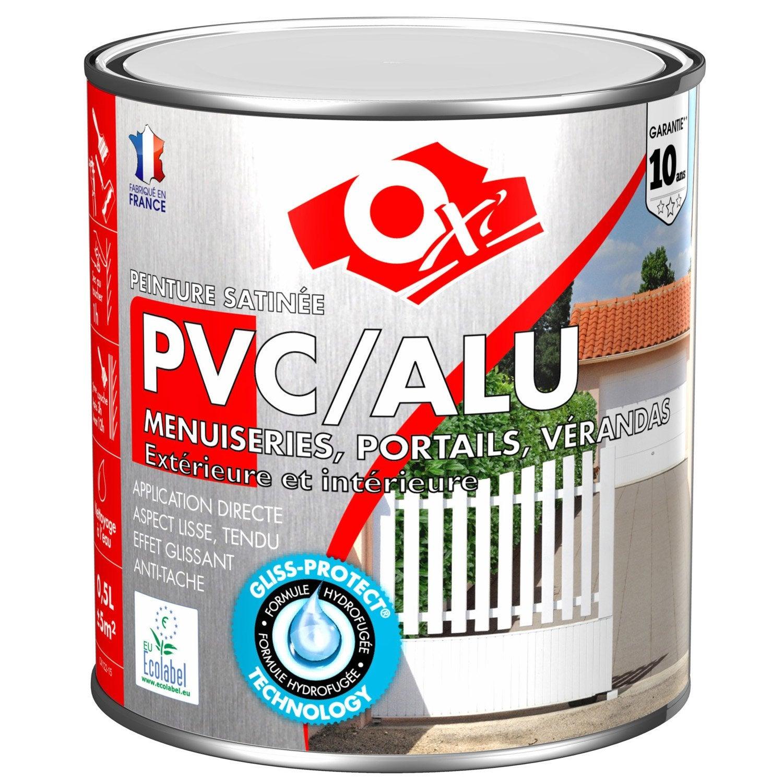 peinture pvc aluminium galva ext rieur oxy oxytol silice 0 5 l leroy merlin. Black Bedroom Furniture Sets. Home Design Ideas