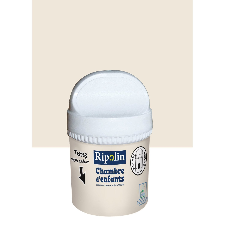 Testeur peinture beige poudr ripolin chambre d 39 enfants l leroy merlin for Peinture beige leroy merlin