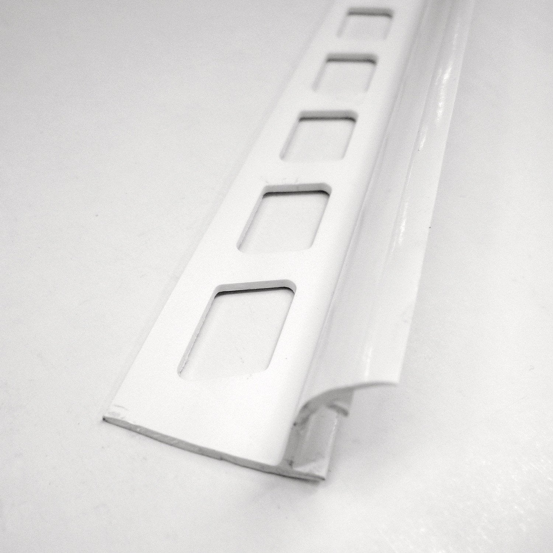 Joint d 39 angle rentrant en pvc blanc 1 8 5m x 25 mm leroy merlin - Passe paroi leroy merlin ...