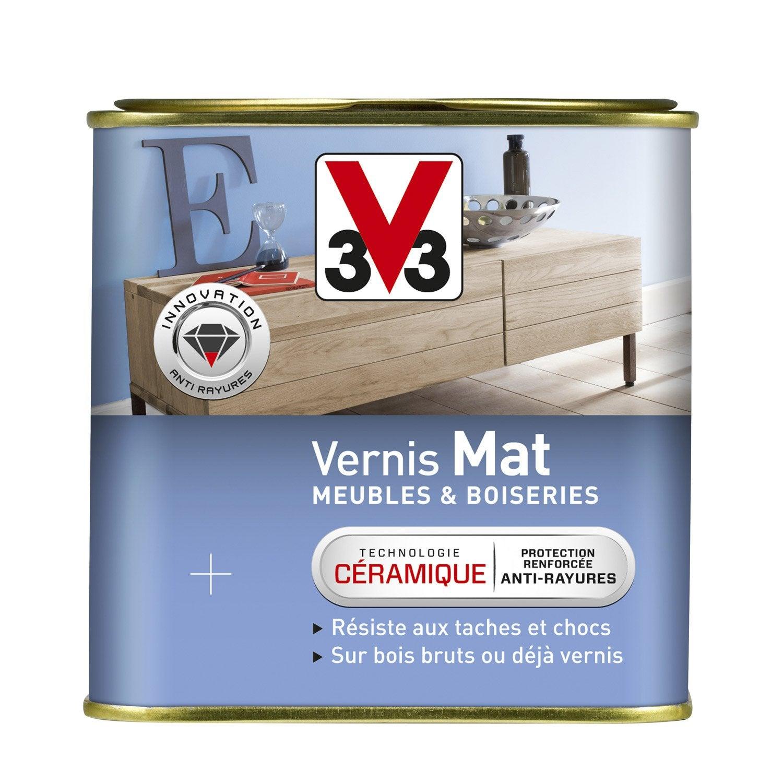 Vernis meuble et objets v33 incolore l leroy merlin for Vernis pour carrelage exterieur