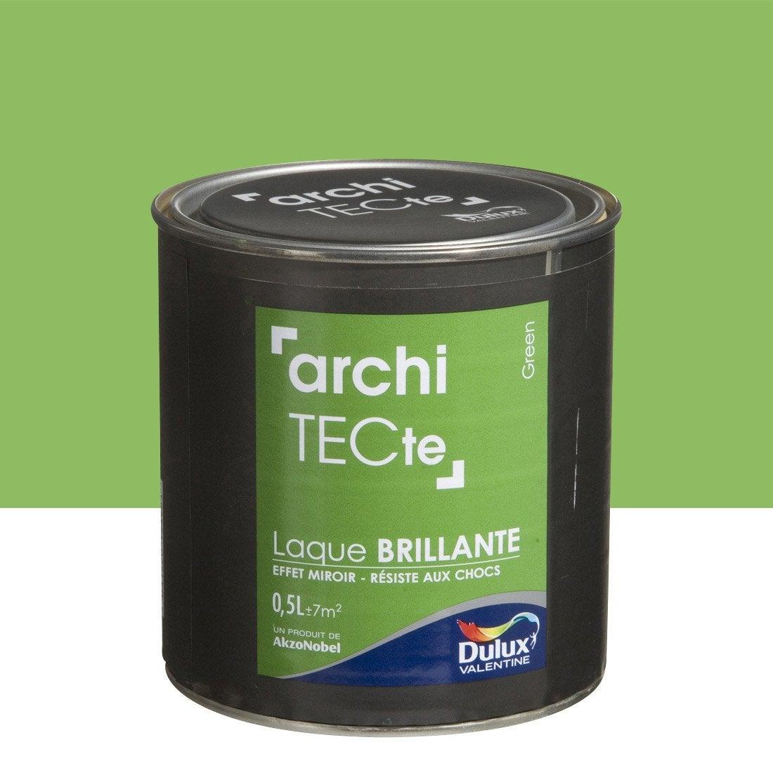 peinture boiserie architecte dulux valentine green 0 5. Black Bedroom Furniture Sets. Home Design Ideas