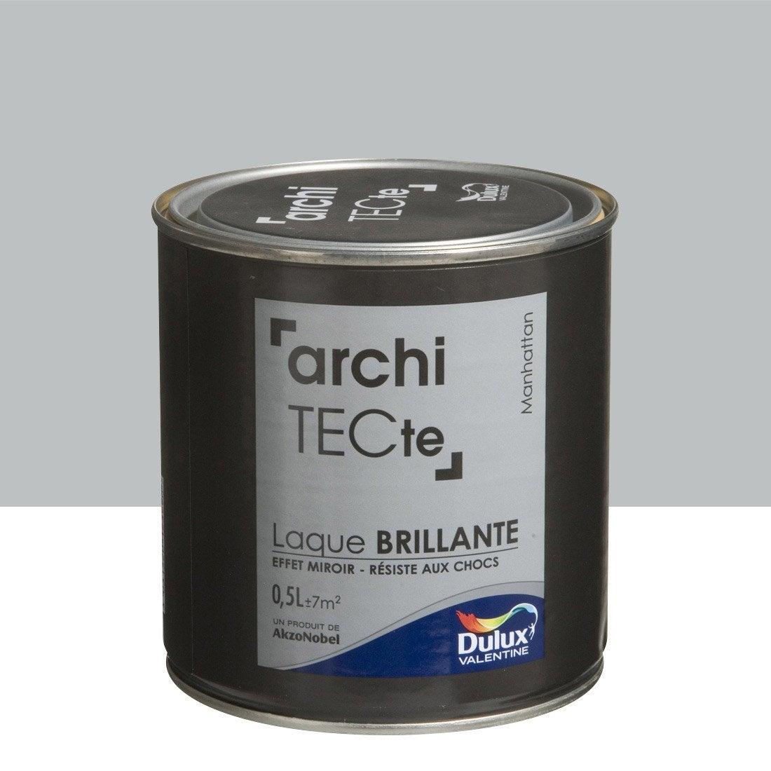 peinture grismanhattan dulux valentine architecte 0 5 l