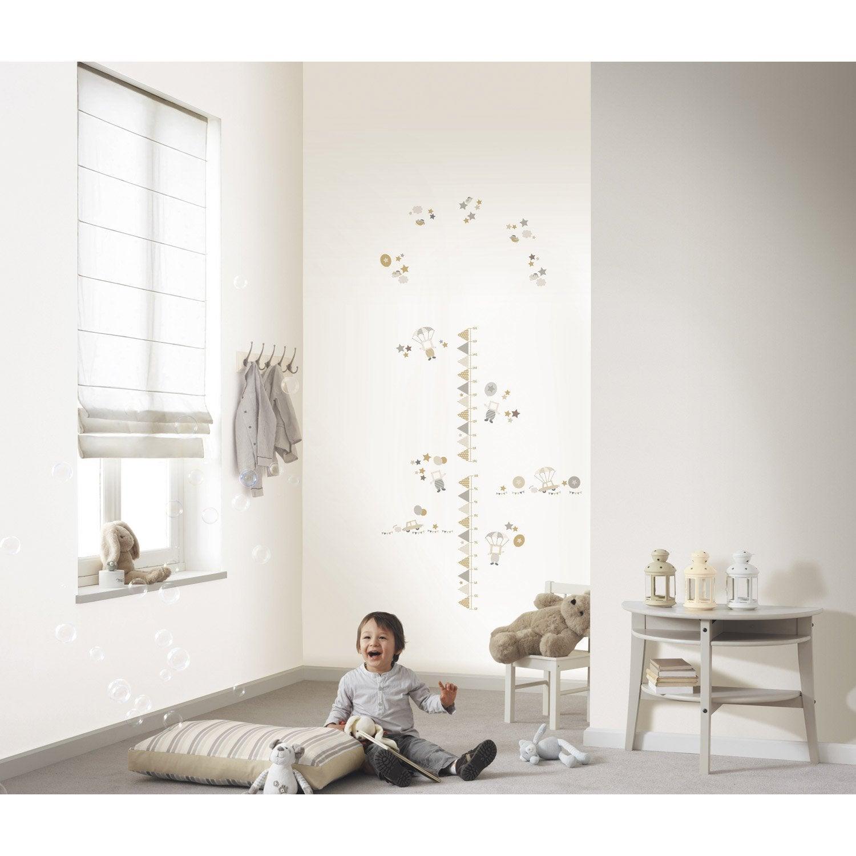 sticker toise 47 cm x 67 cm leroy merlin. Black Bedroom Furniture Sets. Home Design Ideas