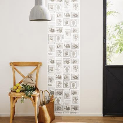 papier peint potager gris intiss bon app tit leroy merlin. Black Bedroom Furniture Sets. Home Design Ideas
