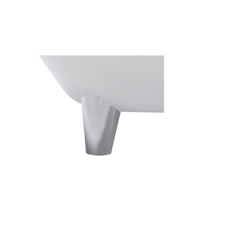 pieds de baignoire cm chrom charleston leroy merlin. Black Bedroom Furniture Sets. Home Design Ideas