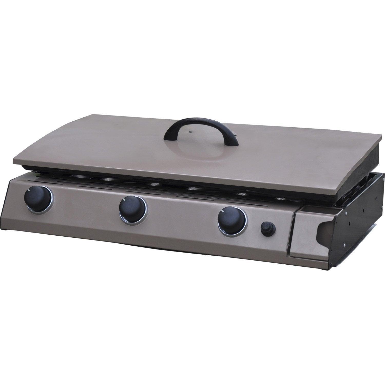 Plancha au gaz naterial murano leroy merlin for Plancha cuisine