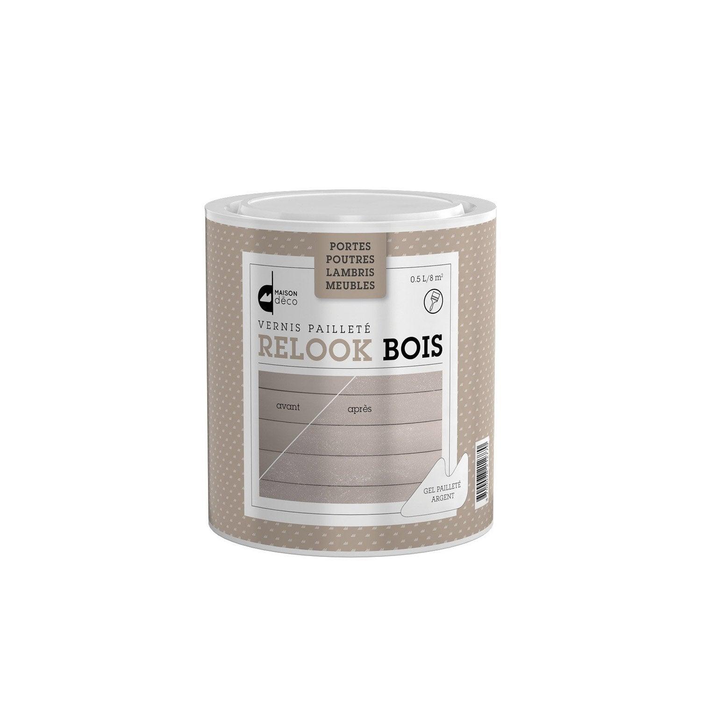 Patine poutre et lambris relook bois maison deco 0 5 l paillet e leroy merlin for Peinture pour lambris