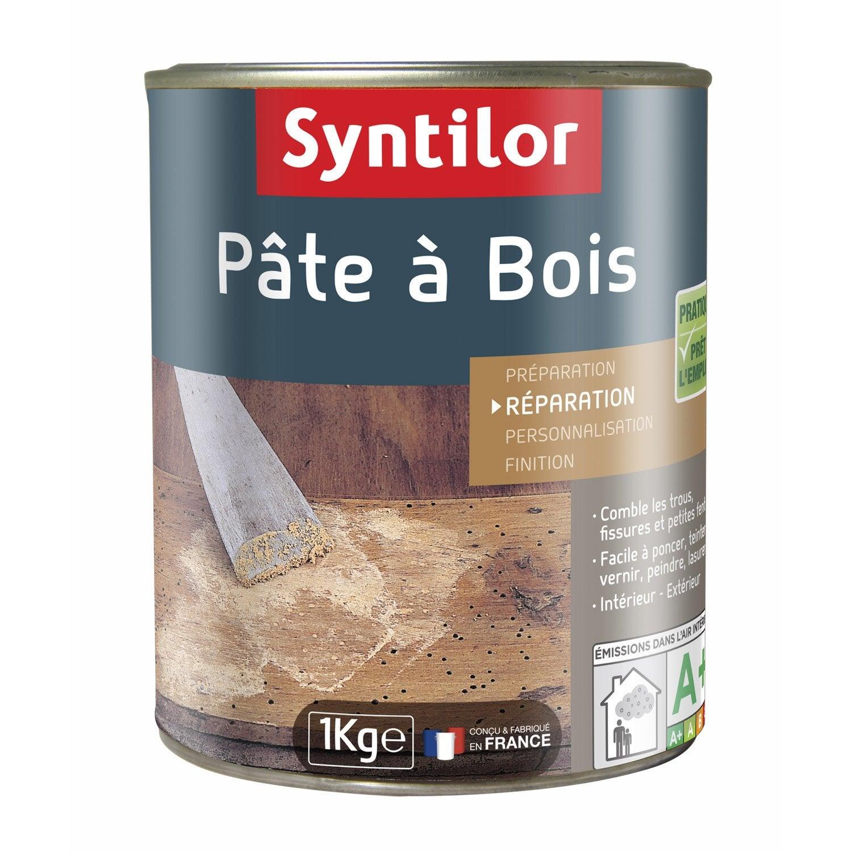 P te bois syntilor ch ne moyen 1000 g leroy merlin - Comment utiliser la pate a bois ...