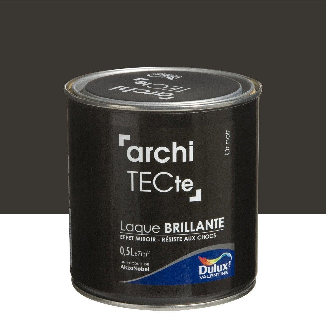 Peinture boiserie architecte dulux valentine or noir 0 - Peinture tableau noir leroy merlin ...