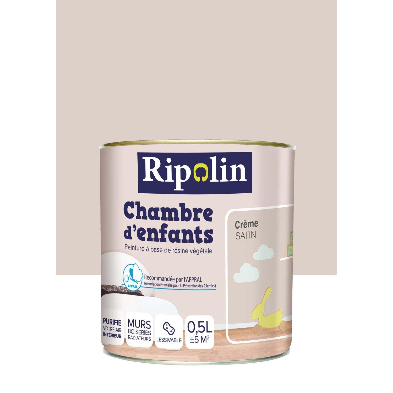 peinture beige cr232me ripolin chambre denfants 05 l